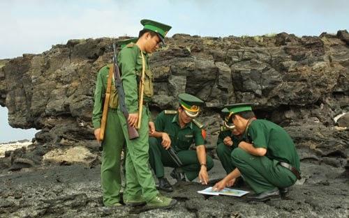 Bộ đội Biên phòng huyện đảo Lý Sơn - Quảng Ngãi chắc tay súng bảo vệ biển trời Tổ quốc