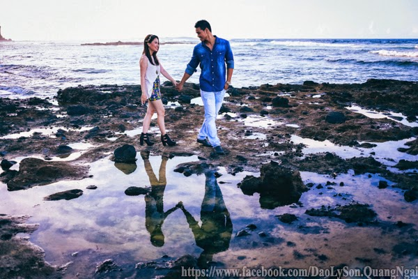 Chụp ảnh cưới tại Đảo Lý Sơn