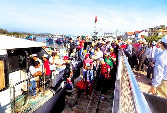 Phát triển du lịch ở Lý Sơn: Hướng đến sự chuyên nghiệp