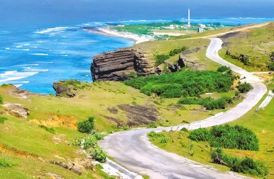 Đường giao thông trên đảo Lý Sơn