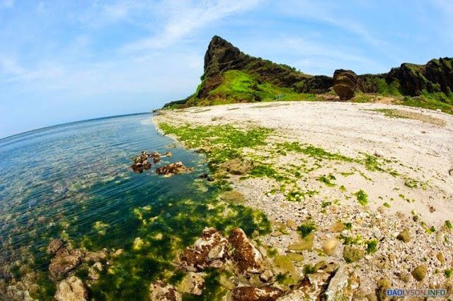 Du lịch mùa hè ở Đảo Lý Sơn là một trải nghiệm thú vị