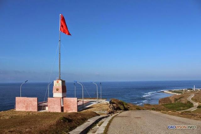 Cột cờ trên núi Thới Lới