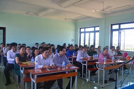Lý Sơn: Khai giảng lớp học Nghiệp vụ du lịch - Hình 5