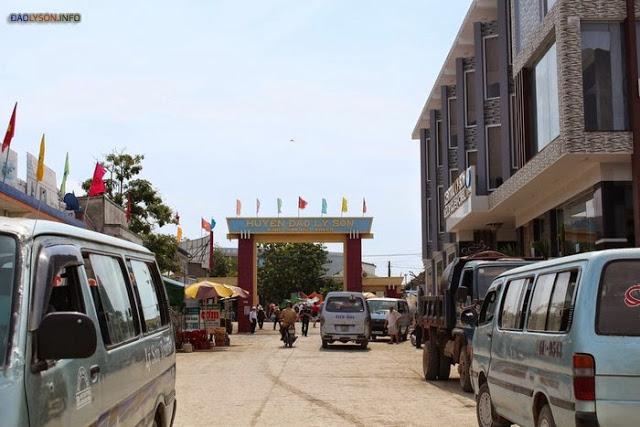 Bến tàu Lý Sơn