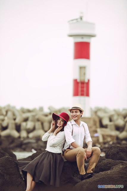 Những bộ ảnh cưới đẹp nhất tại Đảo Lý Sơn - Hình 4