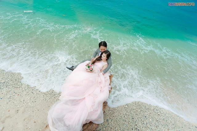 Những bộ ảnh cưới đẹp nhất tại Đảo Lý Sơn - Hình 2