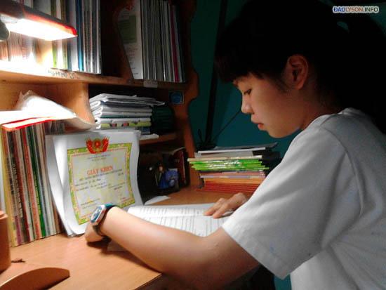 Phúc đã xuất sắc giành danh hiệu thủ khoa của Trường Chuyên Lê Khiết.