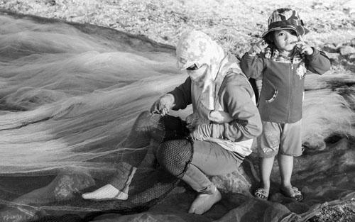 Buổi chiều của gia đình ngư phủ trên đảo Lý Sơn - hình 10