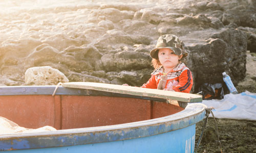 Buổi chiều của gia đình ngư phủ trên đảo Lý Sơn - hình 3
