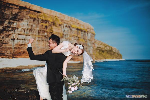 Chụp ảnh cưới tại thiên đường Lý Sơn - Hình 27