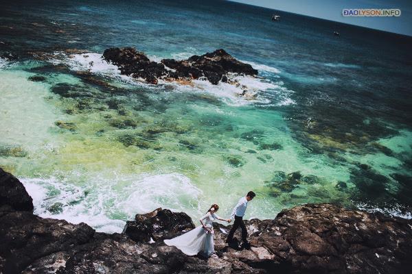 Chụp ảnh cưới tại thiên đường Lý Sơn - Hình 3