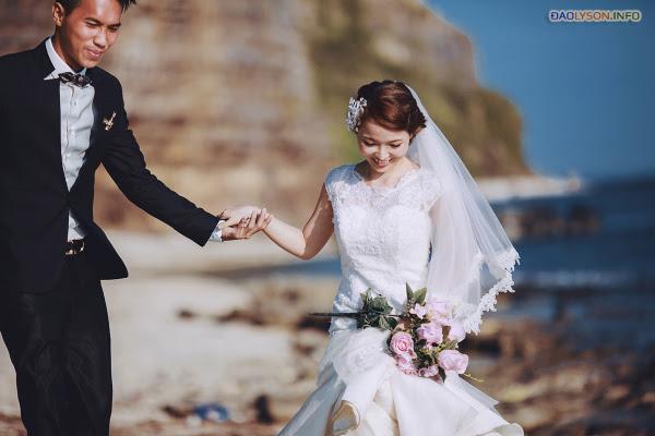 Chụp ảnh cưới tại thiên đường Lý Sơn - Hình 30