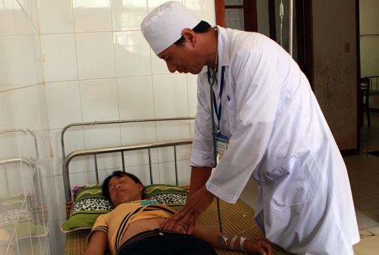 Hiện quy mô giường bệnh của Trung tâm y tế quân dân y Lý Sơn là 60 giường