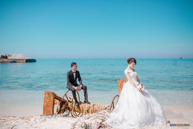 Trọn bộ ảnh cưới đẹp nhất tại Đảo Lý Sơn - Hình 4