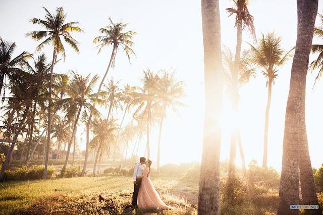 Bộ ảnh cưới đẹp như mơ tại Lý Sơn - hình 1