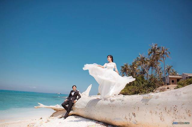 Bộ ảnh cưới đẹp như mơ tại Lý Sơn - hình 3