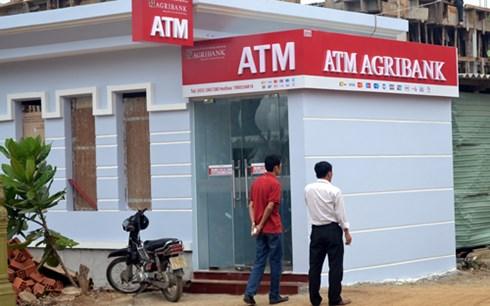 Máy ATM tại huyện đảo Lý Sơn được xây dựng kiên cố để tránh bão.