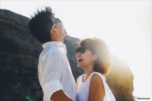 Nhiếp ảnh gia Chit chia sẻ, dù đã đến nhiều hòn đảo của Việt Nam để chụp ảnh cưới, nhưng vẻ đẹp hoang sơ của đảo Lý Sơn dường như không nơi nào sánh bằng.