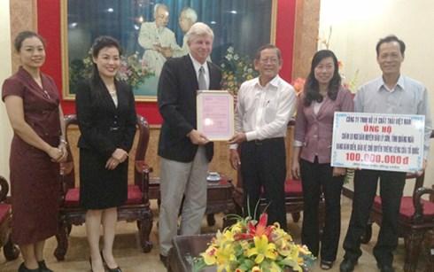 Ngư dân đảo Lý Sơn được VWS ủng hộ 100 triệu đồng