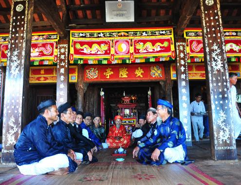 Đình được xây dựng vào năm Minh Mạng, nguyên niên 1820