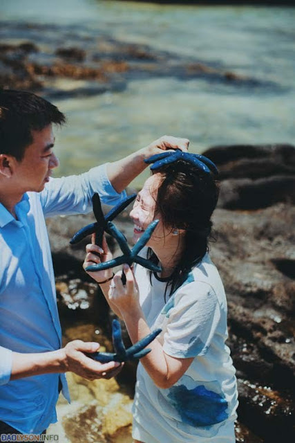 Ảnh cưới táo bạo của cặp đôi Sài Thành tại Đảo Lý Sơn - Hình 4