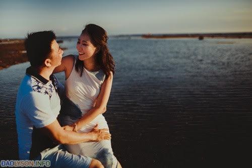 Ảnh cưới táo bạo của cặp đôi Sài Thành tại Đảo Lý Sơn - Hình 6