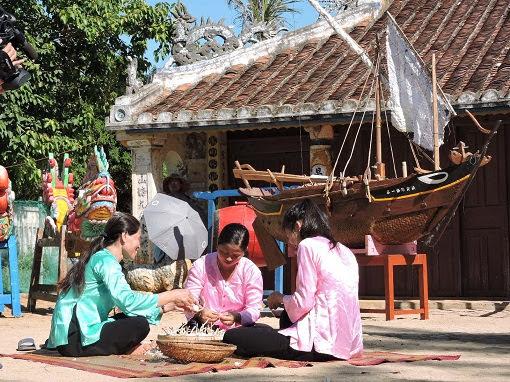 """Chương trình """"Làng Việt"""" tổ chức tại Lý Sơn - Hình 9"""