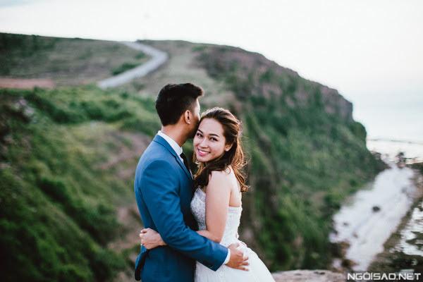 Clip cưới tuyệt đẹp tại Lý Sơn - Hình 1
