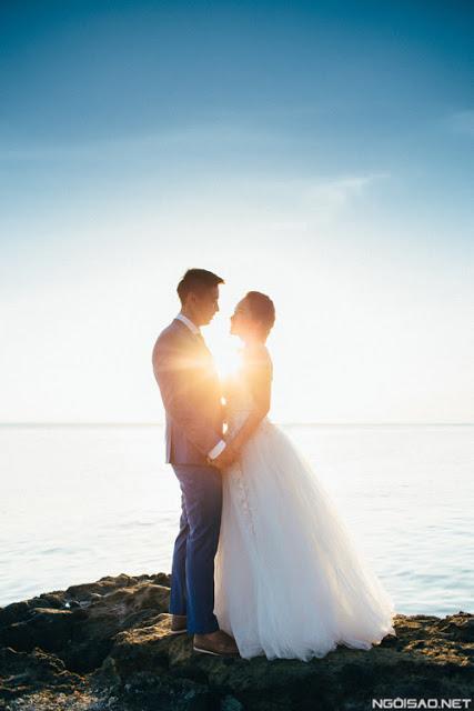 Clip cưới tuyệt đẹp tại Lý Sơn - Hình 4