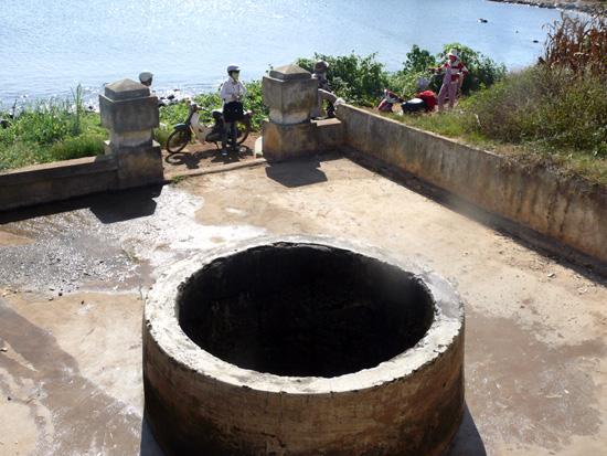 Giếng Xó La (An Vĩnh) - nơi tìm thấy nhiều di chỉ của nền văn hóa Chămpa.