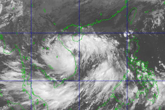 Bão số 3 đã gây gió mạnh cấp 6, giật cấp 8 tại đảo Lý Sơn - Hình 2