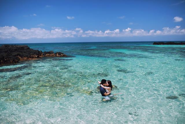 Trọn bộ ảnh cưới đẹp lung linh của cặp đôi Hà Thành trên đảo Lý Sơn - Hình 7
