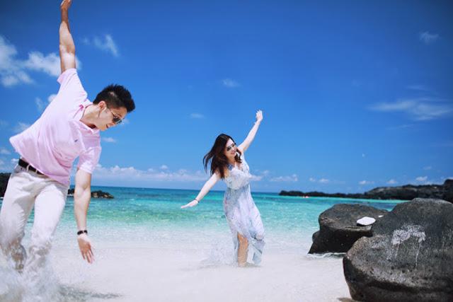 Trọn bộ ảnh cưới đẹp lung linh của cặp đôi Hà Thành trên đảo Lý Sơn - Hình 6