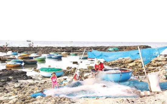 Khu bảo tồn biển Lý Sơn sẽ ảnh hưởng đến hoạt động khai thác thủy sản ven bờ của nhiều người dân.