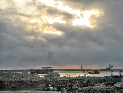 Ngư trường của ngư dân Lý Sơn ngày càng bị thu hẹp.