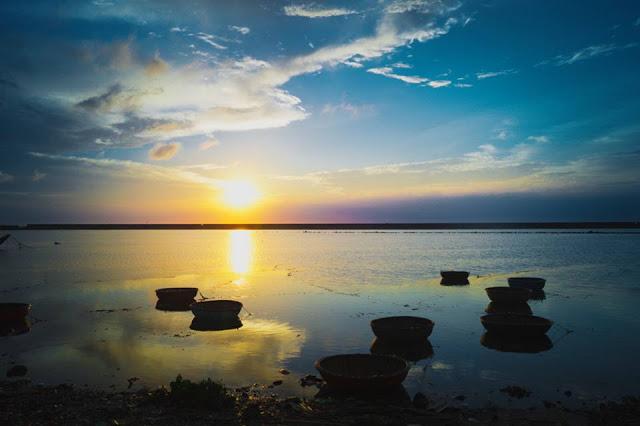 Khung cảnh tại Đảo Lý Sơn