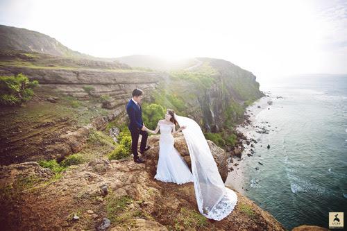 Bộ ảnh cưới đẹp như mơ tại đảo thiên đường Lý Sơn - Hình 12