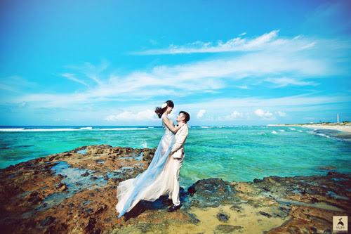 hư Quỳnh và Tiến Lâm quyết định vượt chặng đường xa tới với Lý Sơn để lưu giữ lại những khoảnh khắc tuyệt đẹp của mình trước ngày cưới.