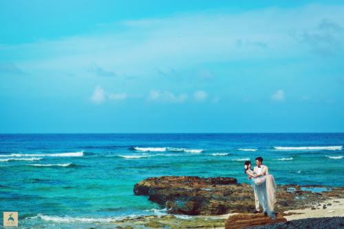 Bộ ảnh cưới đẹp như mơ tại đảo thiên đường Lý Sơn