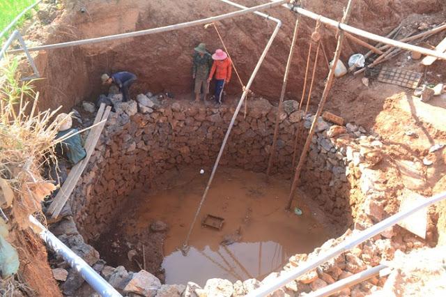"""Việc đua nhau đào giếng """"khủng"""" khiến nguồn nước ngầm ở Lý Sơn ngày cạn kiệt và nhiễm mặn"""