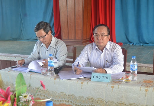 Hội nghị Huyện ủy mở rộng ở Lý Sơn - Hình 3