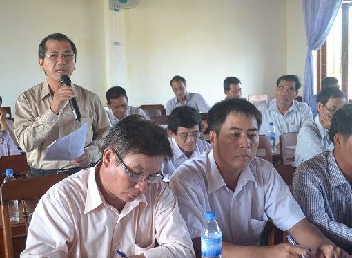 Hội nghị Huyện ủy mở rộng ở Lý Sơn - Hình 4