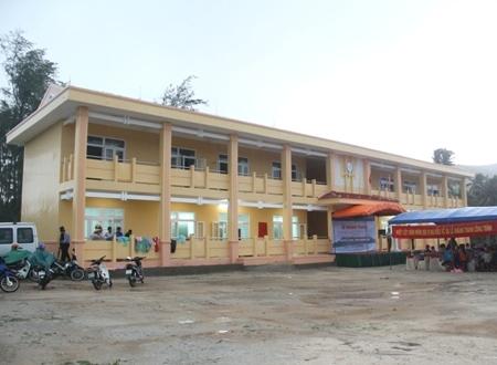 Ngôi trường mới khang trang.