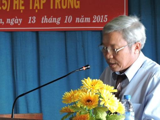Bế giảng lớp Trung cấp Chính trị - Hành chính tại Lý Sơn - Hình 1