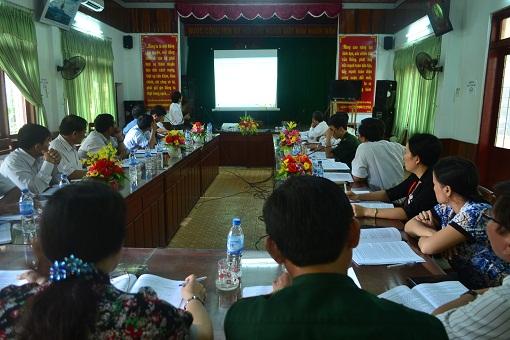 """Hội thảo tham vấn nghiệp vụ """"Điều tra, đánh giá và đề xuất giải pháp phát triển bềnh vững huyện đảo Lý Sơn"""""""