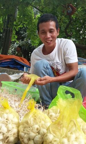 Dù có nhiều thông tin khác nhau về việc bán hành tỏi tại Hà Nội, song anh Thắm cho biết sau khi tiêu thụ hết 8 tấn hàng, anh sẽ tiếp tục cung ứng với hi vọng tìm được kênh phân phối mới cho thương hiệu quê hương.