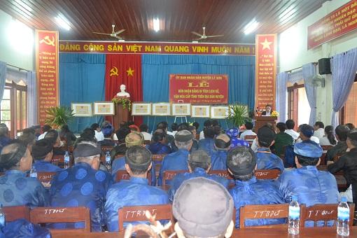 Lý Sơn tổ chức lễ đón nhận bằng xếp hạng di tích lịch sử, văn hóa cấp tỉnh - Hình 1