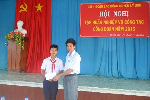 Liên đoàn lao động huyện Lý Sơn tổ chức lớp tập huấn nghiệp vụ công đoàn 2015 - Hình 4