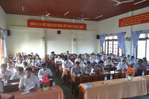 Liên đoàn lao động huyện Lý Sơn tổ chức lớp tập huấn nghiệp vụ công đoàn 2015 - Hình 5