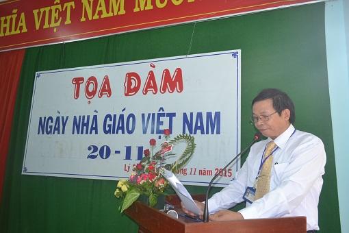 Trường THPT Lý Sơn tổ chức tọa đàm nhân ngày Nhà giáo Việt Nam 20/11 - Hình 3